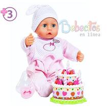 Muñeca Piccola Set De Cumpleaños. Cicciobello