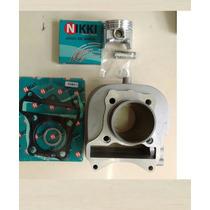 Kit Cilindro Pistão Aneis Motor Suzuki Burgman125 2011 Ed
