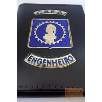 Porta Cheques Funcional Crea Engenheiro Logo Engenharia C40p