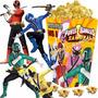 Kit Imprimible Power Rangers Samurai Cotillon Candy Bar 2x1