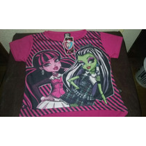 Remera De Monster Hight De Nenas
