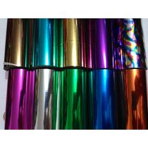 Foil P/ Minc Paq. 10 Coloresx2m Cada Uno Toner Hot Stamping