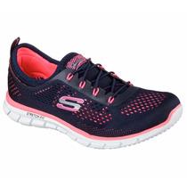 Zapatos Skechers De Dama 22709 100% Original