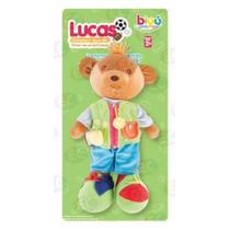 6260 Lucas Oso Para Aprender A Vestirse 25x45x12cm 3+ Biyu
