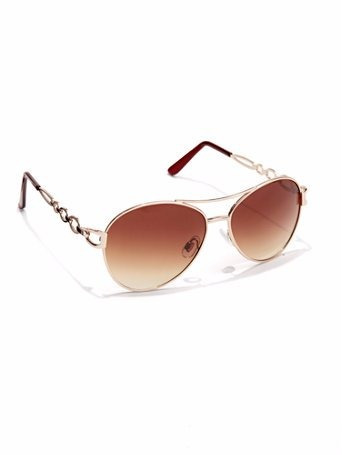 d503fc7503696 Óculos De Sol Aviator Feminino Ny   Company - Black Friday - R  60 ...