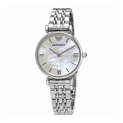 43438381f797 Emporio Armani Ar1682 Retro Reloj Plateado Para Mujer -   980.900 en ...