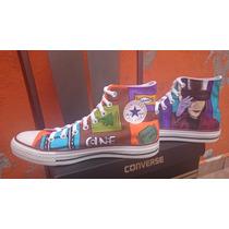 Tenis Converse Personalizados Wonka Charlie Cine Arte Iph