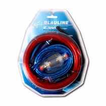 Kit De Cables Para Potencia Instalacion Blauline Zona Norte