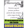 Herrero, Herreria Jc
