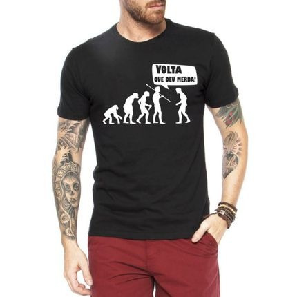 Camisa Ferias Frases Engraçadas Tumblr Homem Evol Promoção R 34