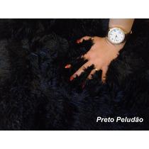 Tapete Peludo Shaggy Luxo Redondo 1,90
