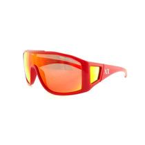 Lentes De Sol Armani Exchange Ax4022s Reflective Shield Red