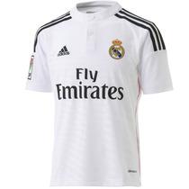 Playera Jersey Real Madrid Local 14/15 Niño Adidas F49664
