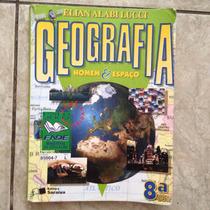 Livro Geografia Homem & Espaço Elian Alabi Lucci 8ª Série