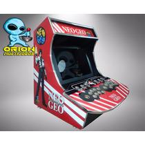 Gabinete Bartop Fliperama Arcade Multijogos Adesivado