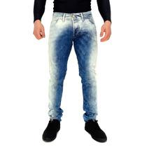 Calça Jeans Skinny Indulto Elast Blue