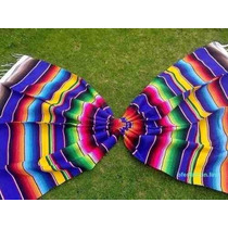 Sarape Mexicano Saltillo Matrimonial. Envios Al Extranjero