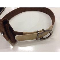 Cinturones Huaso Fino Cuero Crudo Con Funda