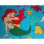 Sirenita, Ariel Y Sus Amigos Figuras De Foami De 80cm Disney