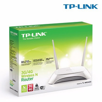 Kit 07 Roteador Tp-link 3g/4g Wireless N Router Tl-mr3420