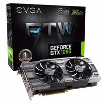 Placa De Video Evga Geforce Gtx 1080 Ftw 8gb Gddr5x 256 Bits