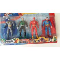 Coleção Liga Da Justiça Batman Lanterna Verde Flash Superman