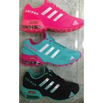 Tenis Zapatillas Adidas Fashion Dama Tegida 2016