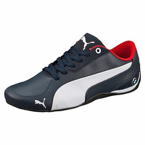 Zapatillas Puma Bmw Ms Drift Cat 5 Azul/blanco
