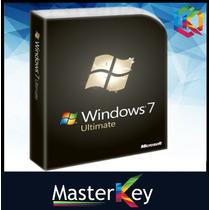 Windows 7 Ultimate Retail 32/64bits Licencia Original 1 Pc