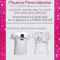 Playeras Personalizadas Camisetas Poliester Algodon Y Polo