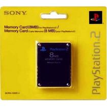50 Memory Card Cartão Memória Ps2 Playstation 2 8mb Original
