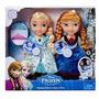 Frozen Snow Glow Anna Y Elsa Cantan, Vestido Con Luces