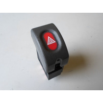 Botão Interruptor Pisca Alerta Gm Corsa E Classic Cor Cinza