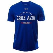 Playera Club Deporitvo Cruz Azul Hombre Under Armour Ua609