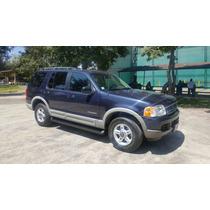 Ford Explorer Xlt, Mod. 2002, Color Azul Marino, ¡de Lujo!