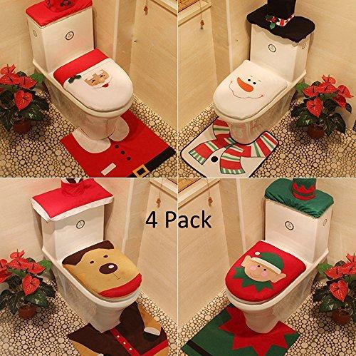 Yunanwa 4 pack decoraciones navide as para el hogar hotel - App decoracion hogar ...