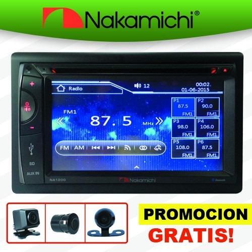Autoestereo Nakamichi Na1200 Touch Dvd Bluetooth Usb +camara - $ 4,599.00 en Mercado Libre