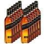 Whisky Johnnie Walker Black Label Original Caixa Com 12-lts