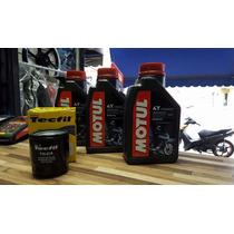Kit Troca Oleo/filtro Yamaha Xj-6 Motul 3000 20w50