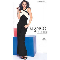Palazzo Cklass Blanco Con Negro Primavera 2015 Nuevo
