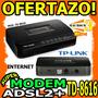 Wow Modem Adsl2+ Internet Tplink Td-8616