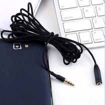 Cable Extension Para Audifonos Y Micrófono 3.5 Mm Uso Rudo