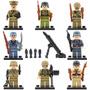 Soldados Alemanes Segunda Guerra Mundial Compatible Con Lego