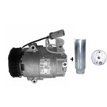Compressor Celta Delphi + Filtro Secador 2002 Diante 6pk