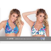 Corpiño Soft Nueva Malla Bikini Yamiel Talle Grande 105a120