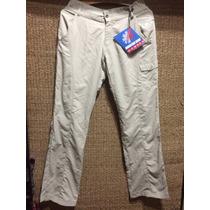 Pantalon Mountain Gear De Mujer Con Filtro Solar