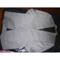 Terno Masculino Zara Cor Cinza Tam. 38