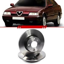 Par Disco Freio Traseiro Alfa Romeo 164 98 97 96 95 94 A 87