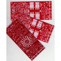 Placa Para Montagem Amplificador Classe D Rsd2000 V2
