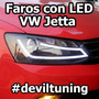 Faros Led Vw Jetta A6 Mk6 Hid Xenon Tuning 2017 Sport Gli Oe